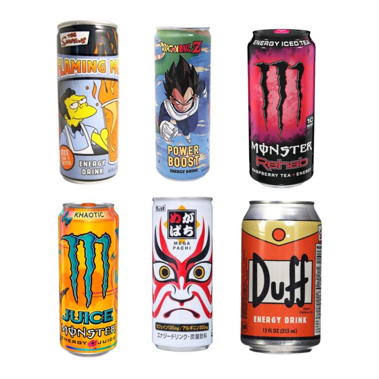 USA Energy Drinks